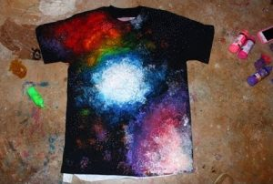 Galaxy Tie-Dye T-Shirts -- Teen Program @ Custer County Library