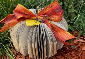 Book Pumpkins Take-n-Make Craft