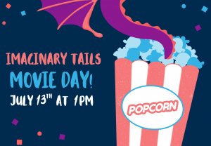 Imaginary Tails and Movie! @ Custer County Library - Main Branch