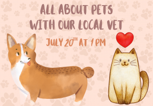 Pets @ Custer County Library - Main Branch