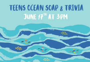 Teens Ocean Soap & Trivia @ Custer County Library - Main Branch 447 Crook St.