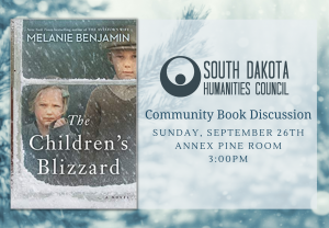 SD One Book Discussion: The Children's Blizzard @ Annex Pine Room